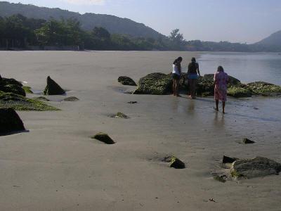 Praia das Encantadas, vista da Pontinha.