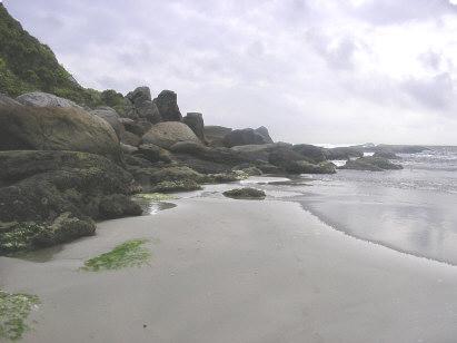 Grandes pedras da passagem