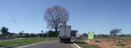 Quilômetro 224. Entrada Oeste de Santa Rita do Pardo.