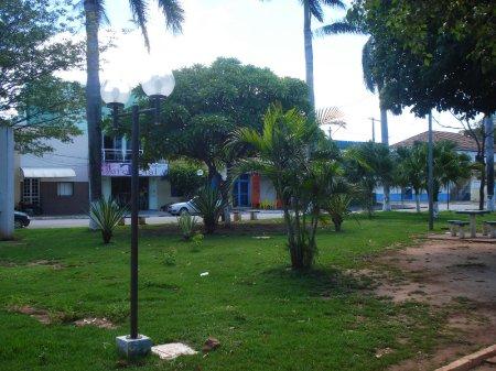 Praça Thomaz Laranjeira.