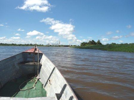 À direita, Isla Margarita. Ao fundo, Porto Murtinho.